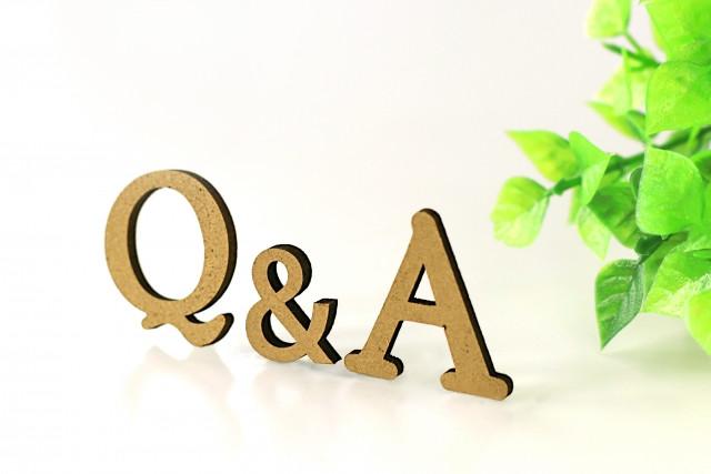 Q&Aの文字